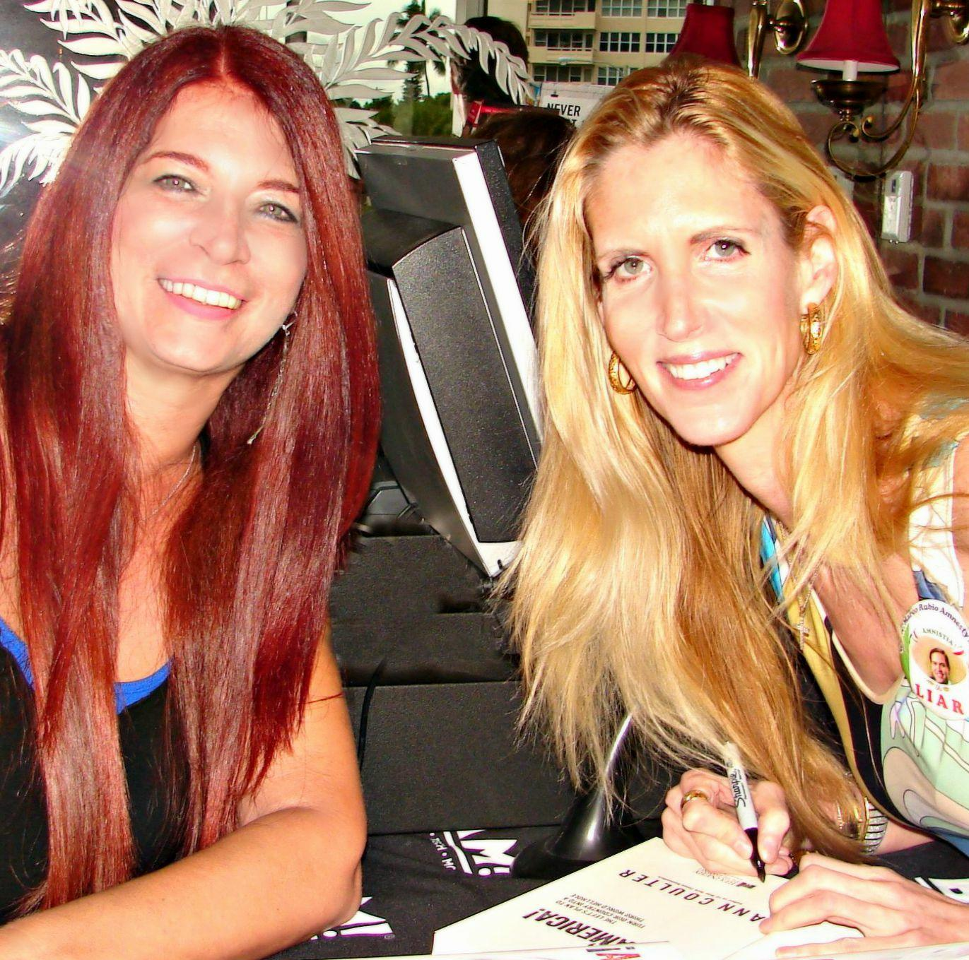 Ann Coulter and Lisa Macci 09/05/15